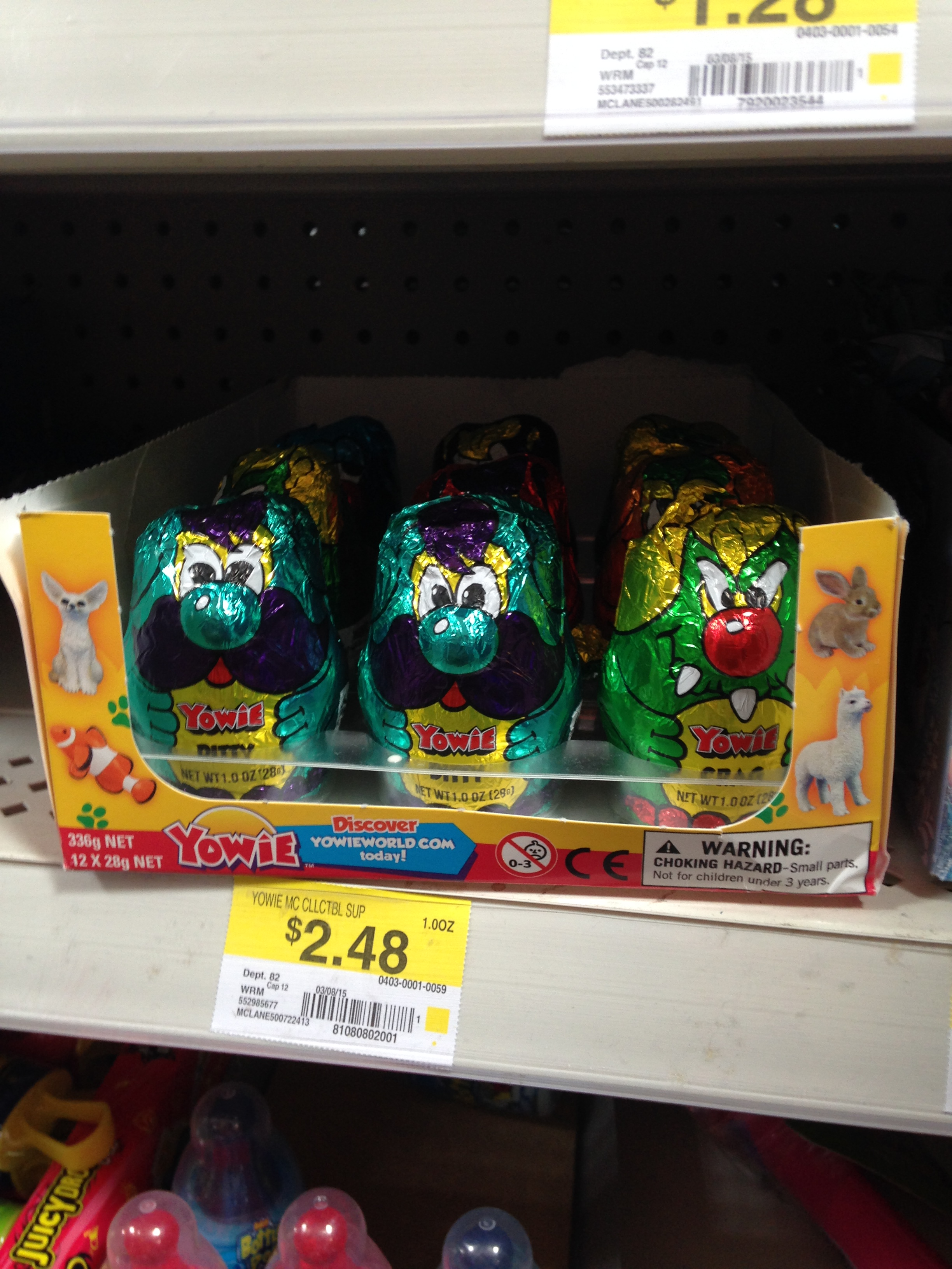 Yowie Chocolate Review | Free the Egg